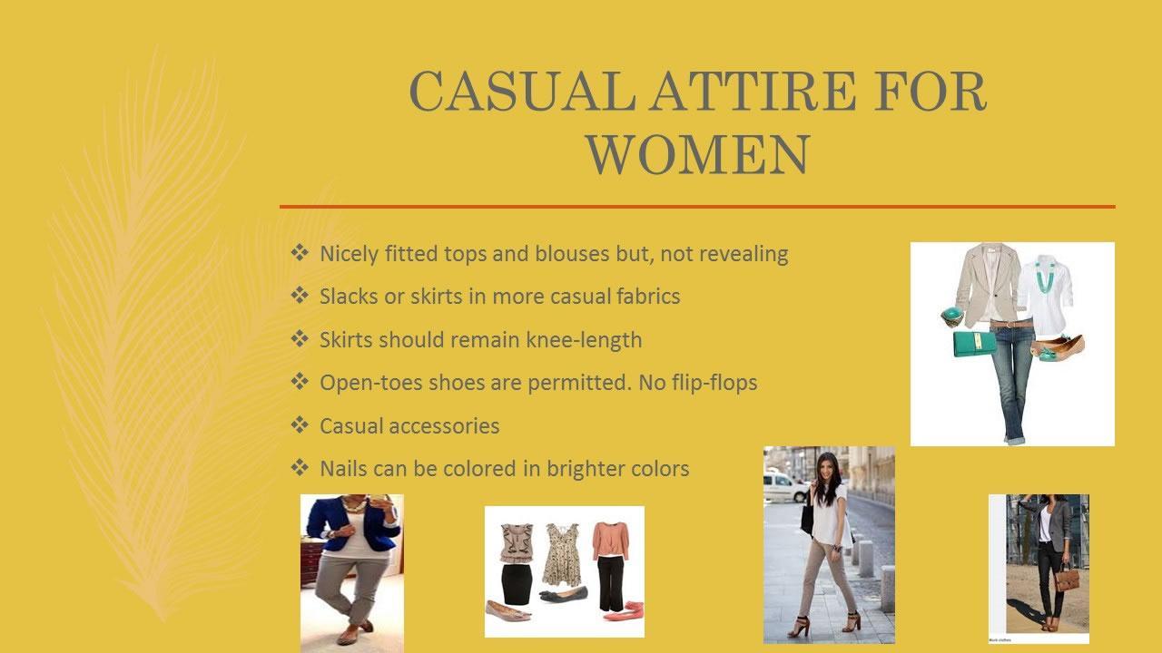 Proper Work Attire Presentation - Slide 8