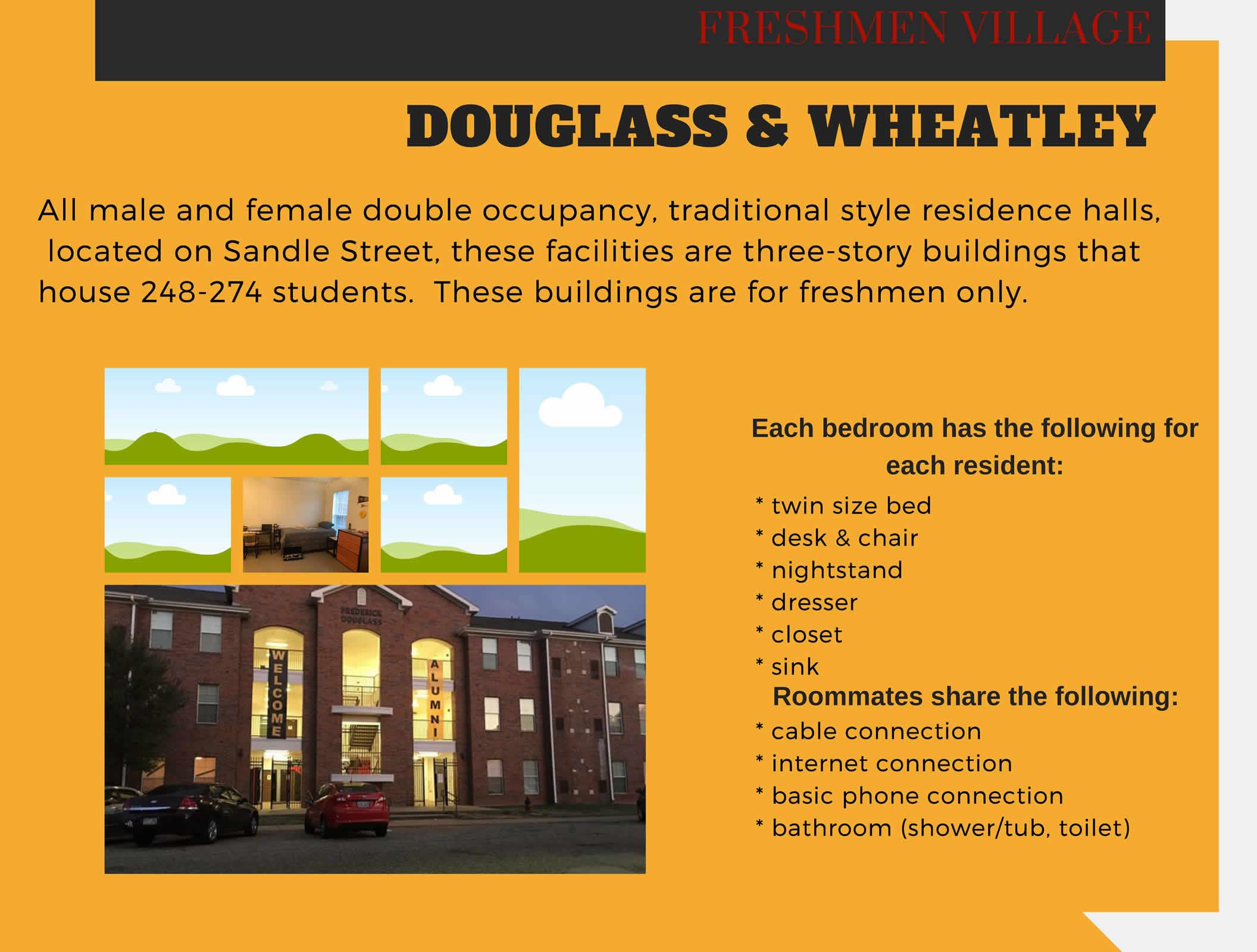 Freshmen Village - Douglass & Wheatley