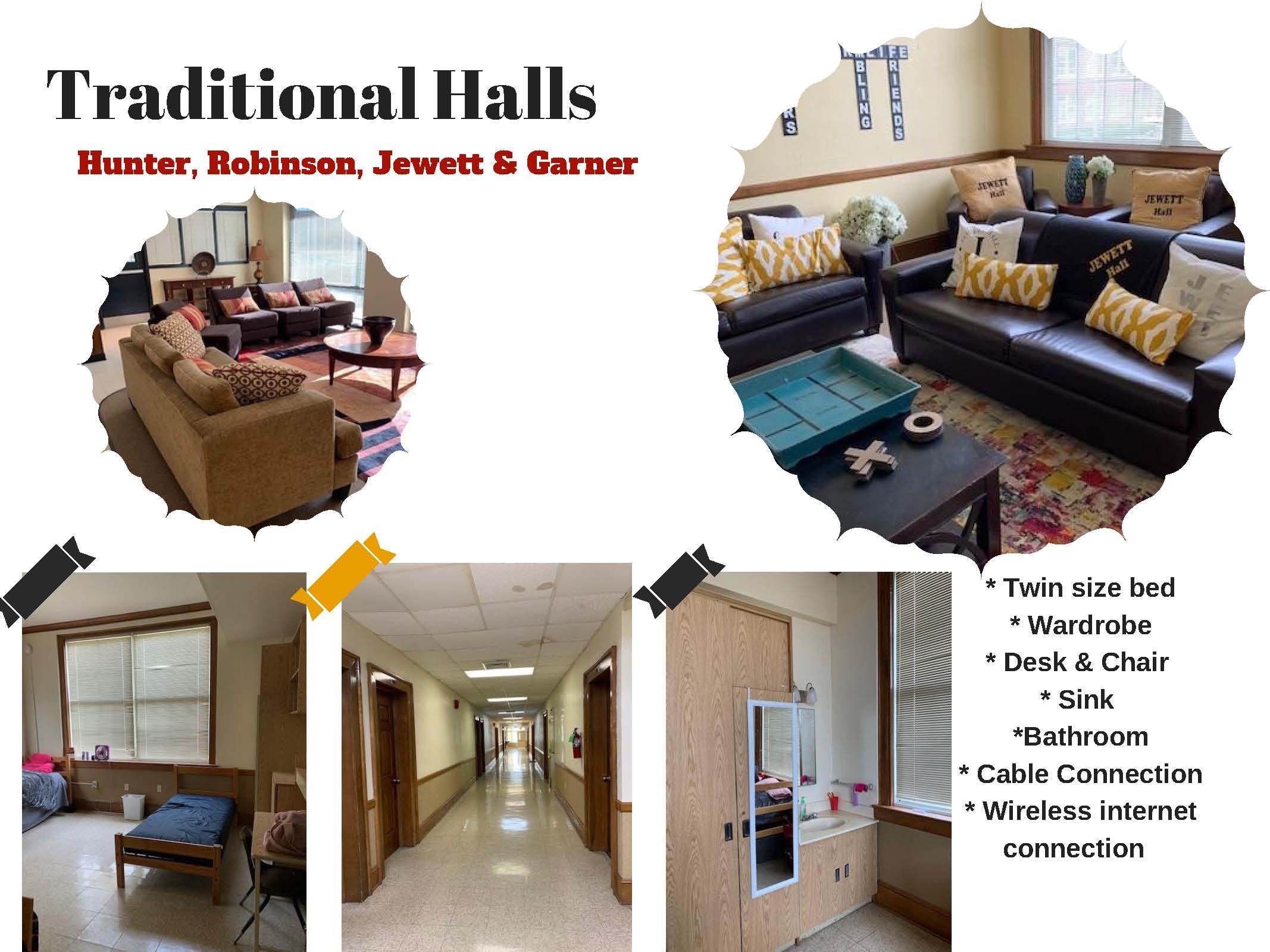 Traditional Halls - Hunter, Robinson, Jewett & Garner
