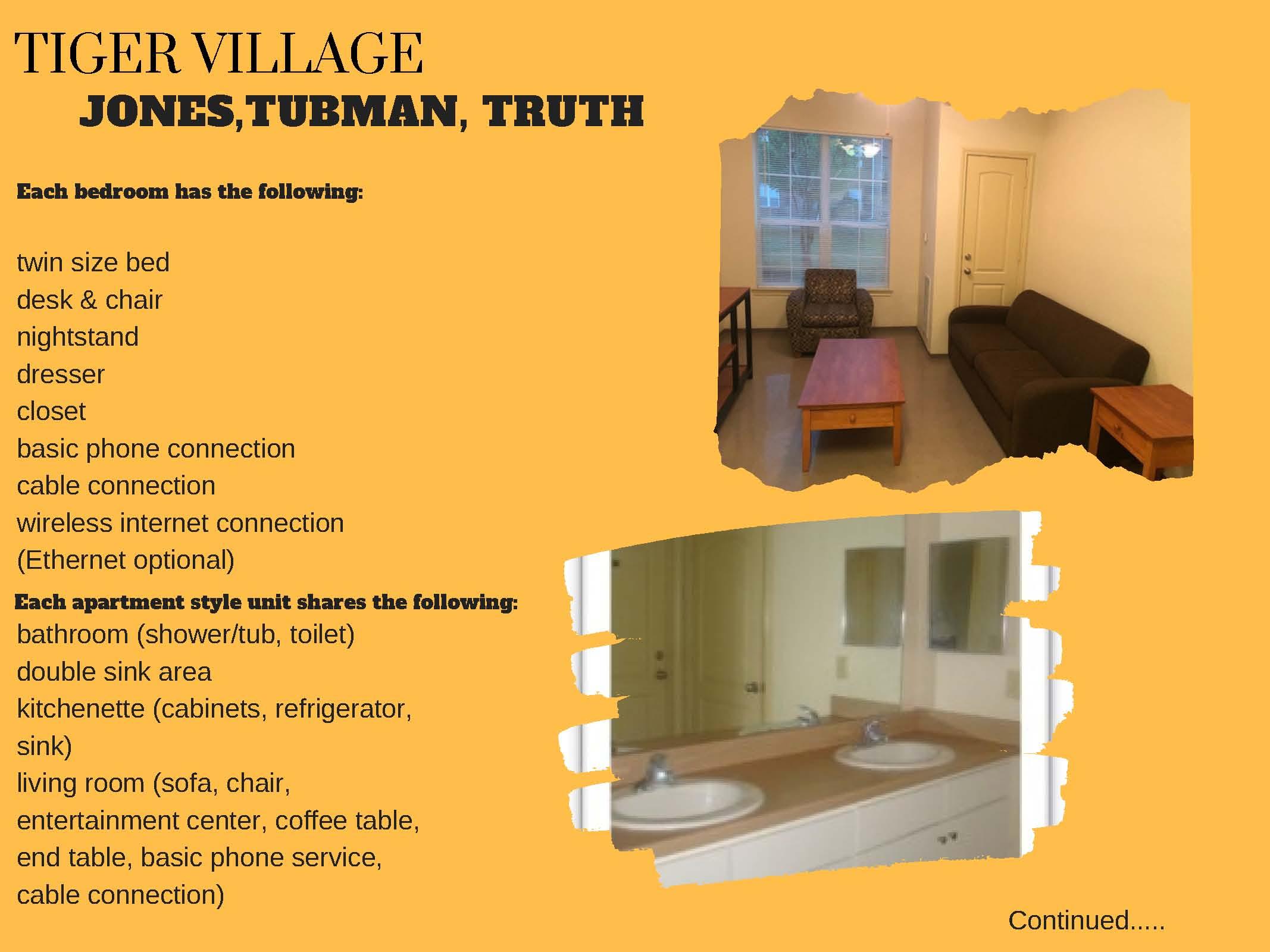 Tiger Village - Jones, Tubman, & Truth