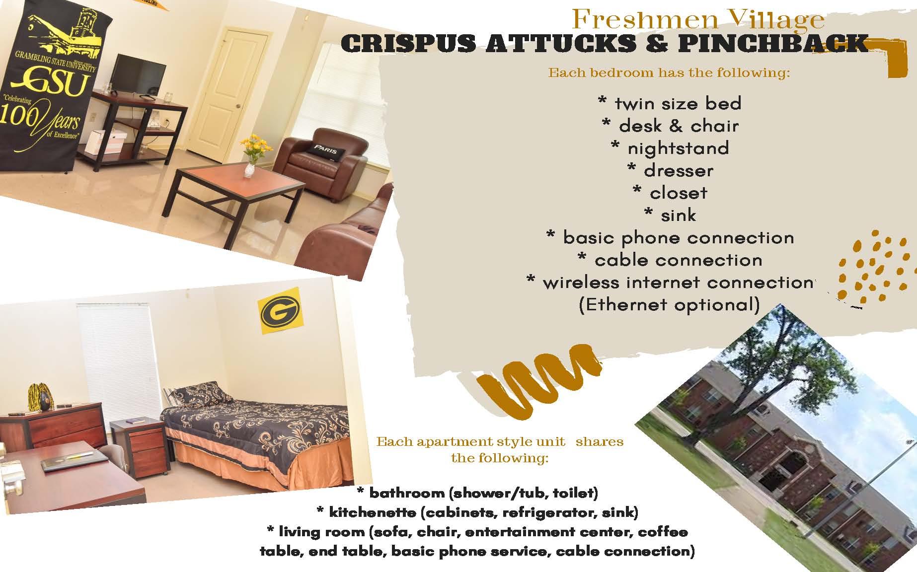 Freshmen Village - Crispus Attucks & Pinchback