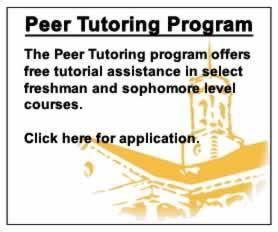 Peer Tutoring Program