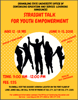 Straight Talk for Youth Empowerment