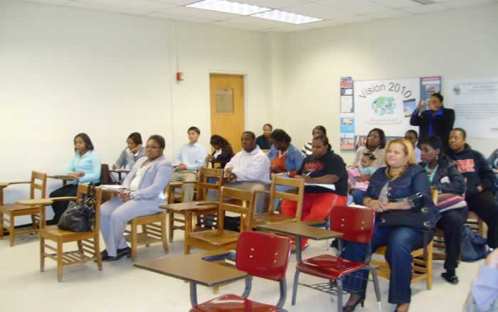 MPA Program Classroom Photo