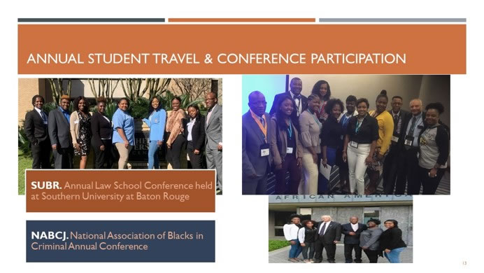 Criminal Justice Student Travel & Conference Participation Collage 2