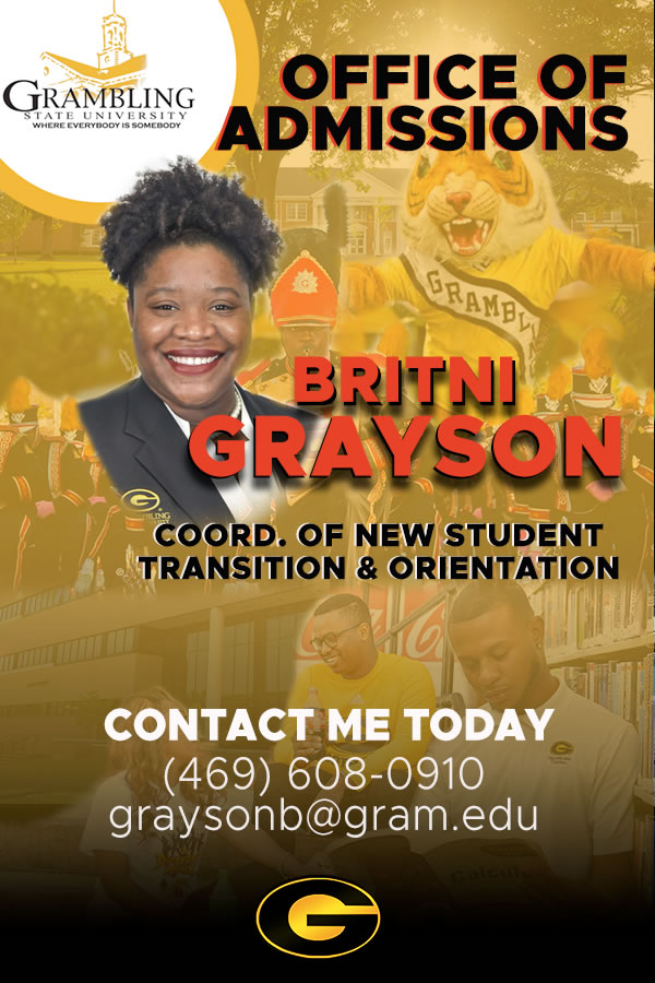 Britni S. Grayson, Coord. of New Student Transition & Orientation