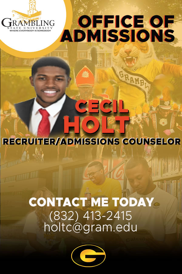 Cecil Holt, Recruiter/Admissions Counselor