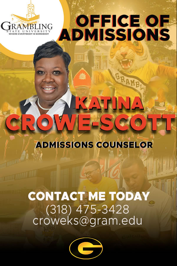 Katina Crowe-Scott, Admissions Counselor