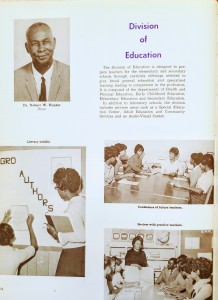 Class of 69 Yearbook - Division of Education