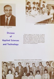 Class of 69 Yearbook - Division of Science & Technology