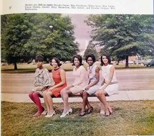 Class of 69 Yearbook - Miss GSU Court