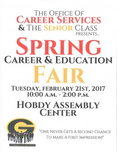 Spring Career & Education Fair @ Hobdy Assembly Center | Grambling | Louisiana | United States
