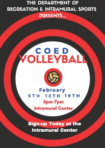 Coed Volleyball @ Intramural Center | Grambling | Louisiana | United States