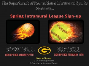Sign Up for Intramural League @ Intramural Center | Grambling | Louisiana | United States