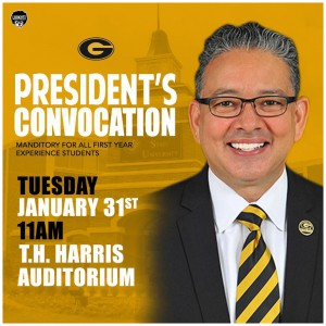 President's Convocation @ T. H. Harris Auditorium | Grambling | Louisiana | United States