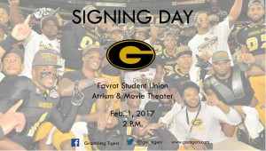 Grambling State University Football Signing Day @ Favrot Student Union Atrium & Movie Theatre  | Grambling | Louisiana | United States