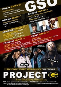 Tiger Fest 2017 @ Various Locations on Campus | Grambling | Louisiana | United States
