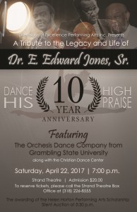 Dance His High Praise - Apr. 22, 7pm The Strand Theatre, Shreveport, LA