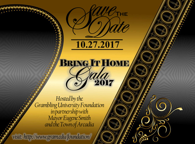 Bring It Home Gala 2017 - Save the Date