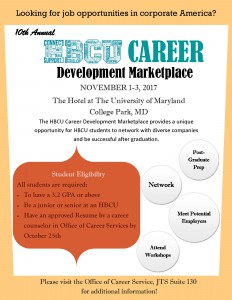 HBCU CAREER Development Marketplace @ The Hotel at The University of Maryland | College Park | Maryland | United States