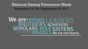 National Hazing Prevention Week @ Office of Student Affairs | Grambling | Louisiana | United States