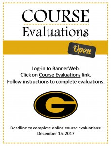 Course Evaluations are Available! @ Online (Banner Web) | Grambling | Louisiana | United States