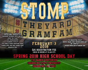 Spring 2018 High School Day @ T. H. Harris Auditorium | Grambling | Louisiana | United States