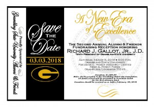 A New Era of Excellence - 2nd Annual Alumni & Friends Fundraising Reception @ Fredrick C. Hobdy Assembly Center Foyer | Grambling | Louisiana | United States