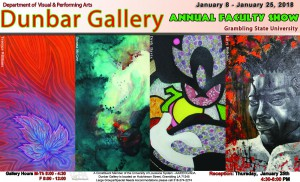 Spring 2018 Annual Faculty Art Show @ Dunbar Art Gallery | Grambling | Louisiana | United States