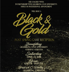 Black and Gold Spring Game Reception @ Fredrick C. Hobdy Assembly Center | Grambling | Louisiana | United States