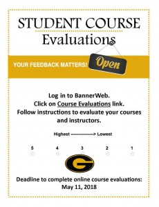 Student Course Evaluations Deadline - Spring 2018 @ Online (Banner Web) | Grambling | Louisiana | United States