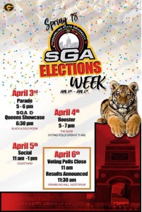 SGA Elections Week @ Various locations on campus | Grambling | Louisiana | United States