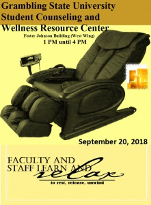 Faculty and Staff Learn and Relax @ Foster Johnson Building (West Wing) | Grambling | Louisiana | United States