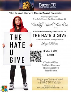 "Free Movie Screening of ""The Hate You Give"" @ Celebrity Theatres  - Ruston (Free Shuttle Provided) 