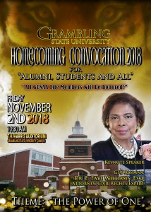 Homecoming 2018 Convocation @ T. H. Harris Auditorium | Grambling | Louisiana | United States