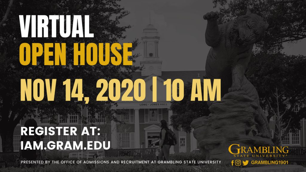 Virtual Open House Fall 2020