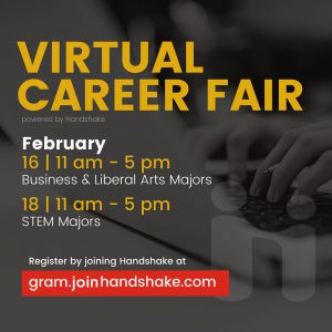 Spring 2021 Virtual Career Fair