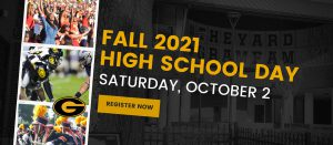 Fall 2021 High School Day - Saturday, October 2 - Register Now