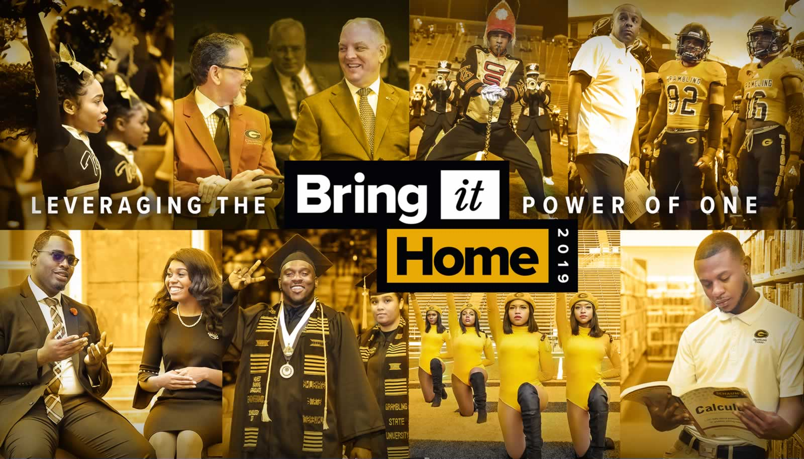 Bring It Home Campaign Banner