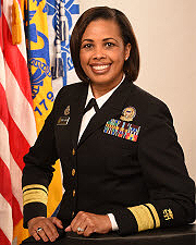 Rear Admiral Sylvia Trent-Adams, PhD, RN, FAAN, Deputy Surgeon General of the United State