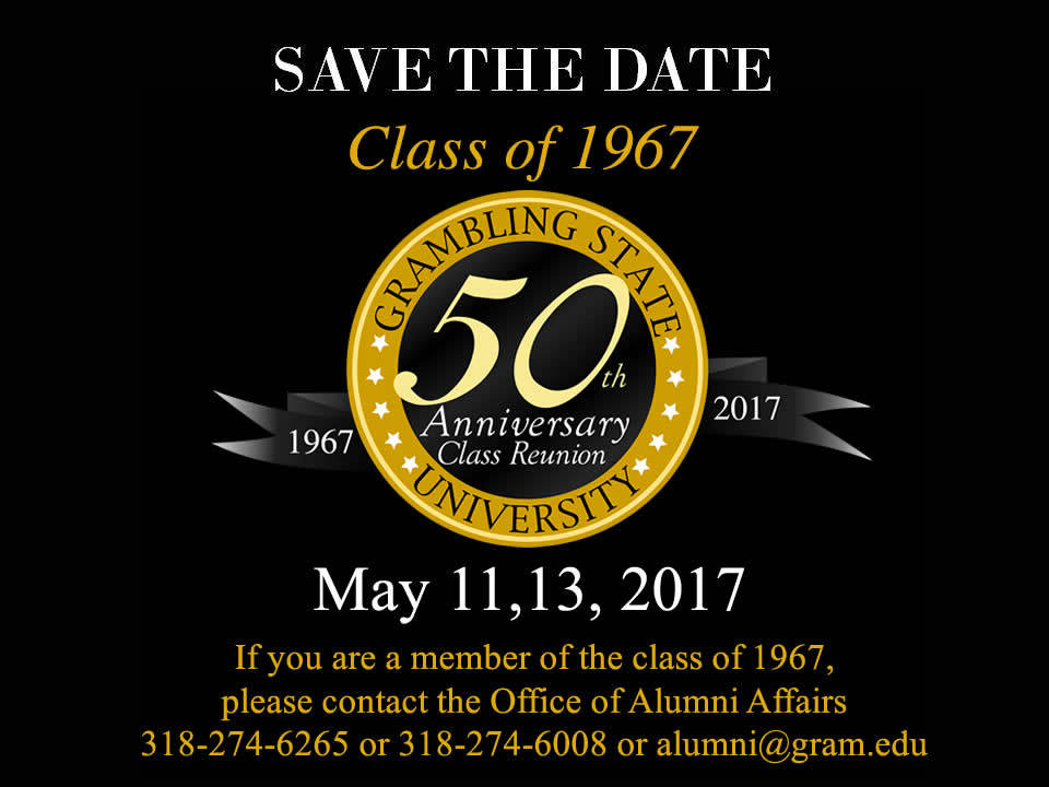 Save The Date - Class of 1966 Reunion
