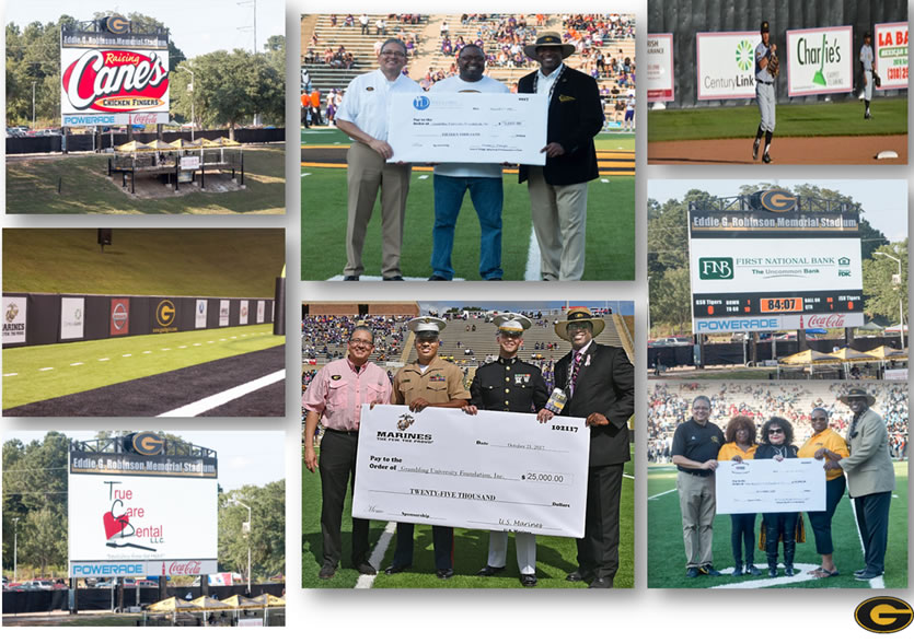 Sponsors At GSU - Collage
