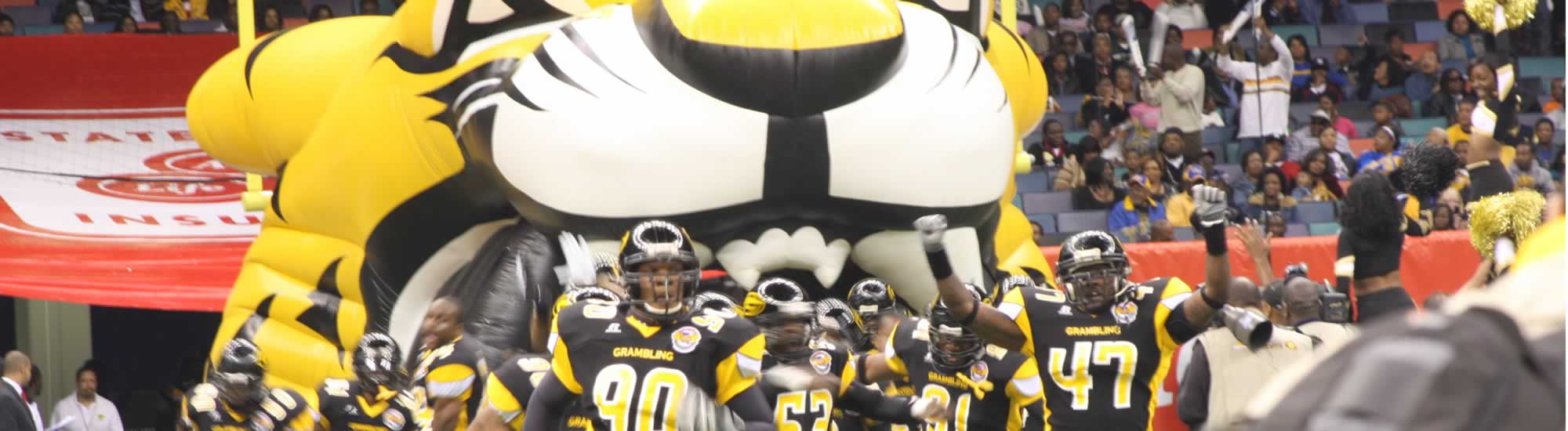 Cheer the Grambling State University G-Men!