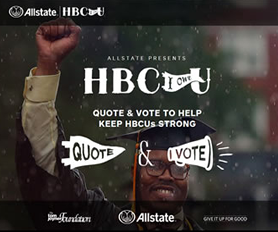 Allstate HBCU I owe U Contest, Vote for GSU today and everyday!