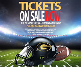 2016 Football Tickets on Sale NOW!