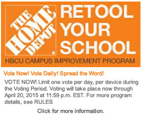 The Home Depot Retool Your School Program, VOTE TODAY!