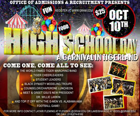 2015 Fall High School Day - Oct. 10. 2015