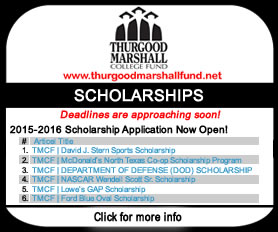 TMCF Scholarship Deadlines Approaching Soon!