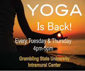 Spring 2015 Yoga Classes