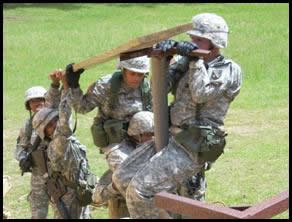 GSU ROTC Training Exercises